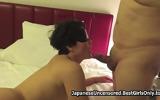 Asian Japanese Mature Fucks Bedroom With Fat Hubby