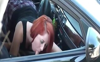 They Acquires Caught Fucking In The Car