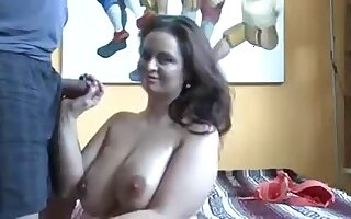 Big Boobs Amateur Babe in Casting