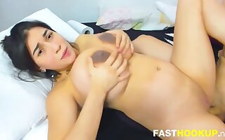Huge Tits Pregnant Anal