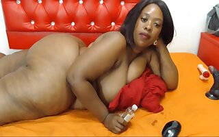 Renowned Ass, On target Shape, Black Woman With Vulgar Feet, Webcam