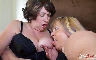 AgedLovE Big-Titted Mommies Enjoying Steadfast Group Gender Love Fabrication