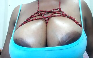 Leann amateur elegant brunette with big boobs