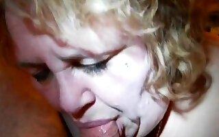 BBW Olga Blowjob
